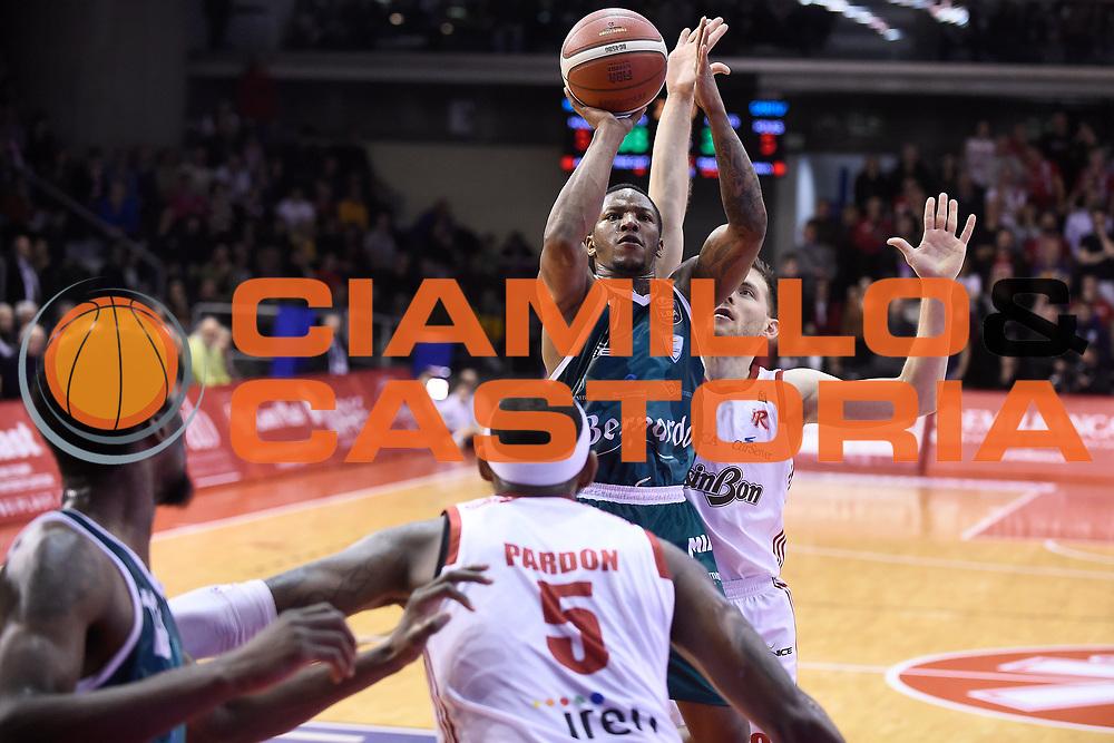 Clark Wes<br /> Grissin Bon Reggio Emilia - Acqua S.Bernardo Cantu<br /> Lega Basket Serie A 2019/2020<br /> Reggio Emilia, 25/01/2020<br /> Foto A.Giberti / Ciamillo - Castoria