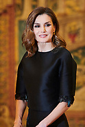 041718 Spanish Royals Host a Reception For President of Portugal