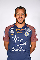 Vitorino Hilton during photoshooting of Montpellier Herault  for new season 2017/2018 on September 3, 2017 in Montpellier<br /> Photo : Mhsc / Icon Sport