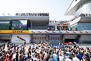 April 10-12, 2015: Chinese Grand Prix - Chinese Grand Prix podium atmosphere