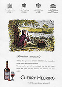 Cheery Hearing liqueur advert advertising in Country Life magazine UK 1951