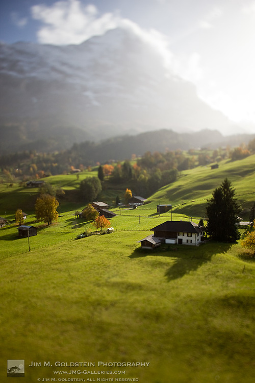 Grindelwald Countryside Homes Under the Eiger Mountain