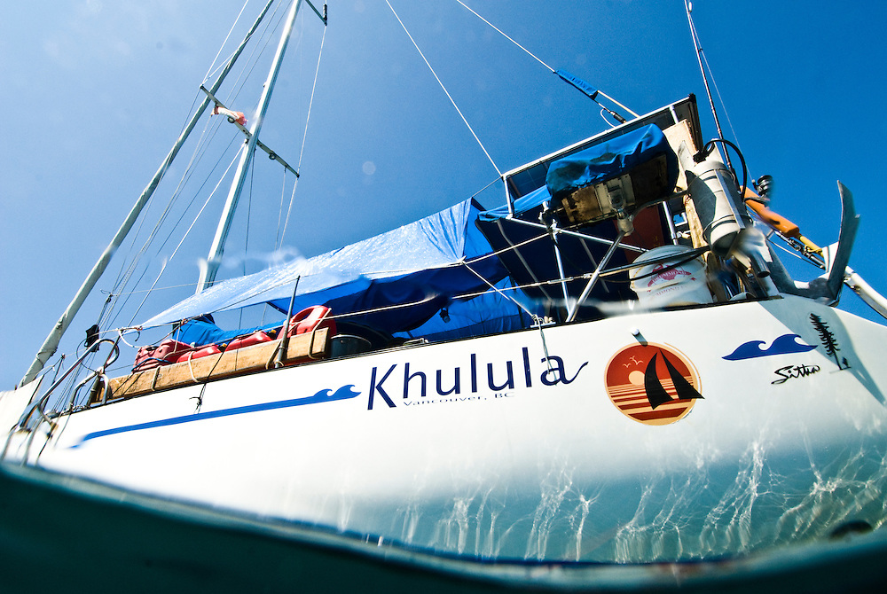 "The guys of OceanGybe have made Khulula their home for the past 3 years. A rough translation of the name means ""to be set free."""