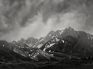 """This image was taken at the beginning of the 2017 monsoon season at the Eastern Sierra Nevada as we were making our ways back to our camp site near Big Pine. There were so many thoughts going through my mind when I worked on this image. But I think they all boiled down to this concept of """"timelessness"""" that I felt strongly when I was standing there at the foot the Sierra. I can only start to imagine the things that these peaks have witnessed throughout the millennia. Perhaps if we can see what they have seen we would realize that the more things change, the more they stay the same."""