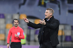 Andrej Razdrh, head coach of NK Domzale during football match between NK Maribor and NK Domzale in 17th Round of Prva liga Telekom Slovenije 2019/20, on November 9, 2019 in Ljudski vrt, Maribor, Slovenia. Photo by Milos Vujinovic / Sportida