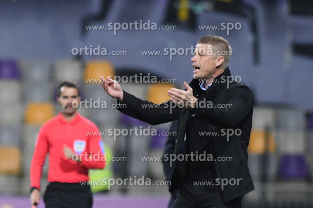 Andrej Razdrh, head coach of NK Domzale during football match between NK Maribor and NK Domzale in 17th Round of Prva liga Telekom Slovenije 2019/20, on November 9, 2019 in Ljudski vrt, Maribor, Slovenia. Photo by Milos Vujinovic / Sportida