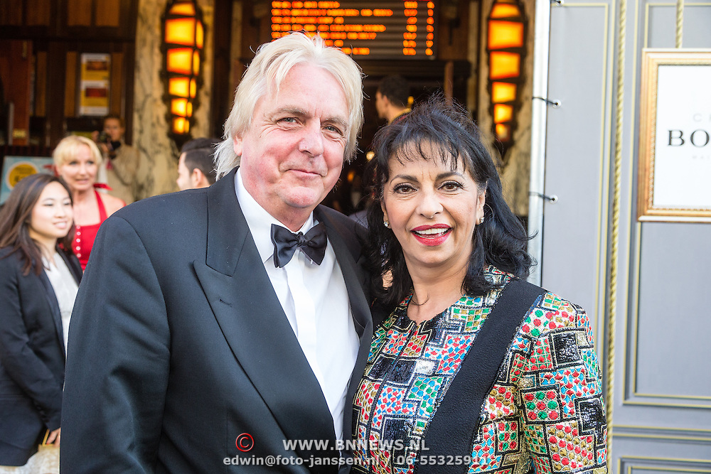 NLD/Amsterdam/20160713 - Premiere Absolutely Fabulous, Laura Fygi en partner Jacques Buhling