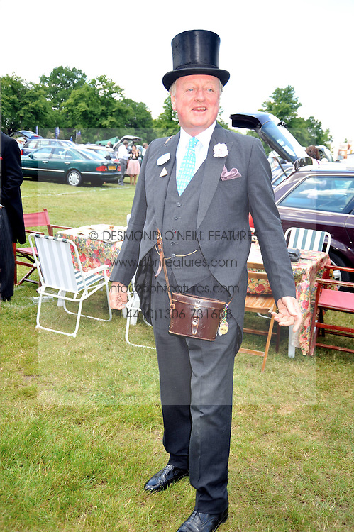 ANDREW PARKER BOWLES at at the first day of the 2009 Royal Ascot racing festival on 16th June 2009.