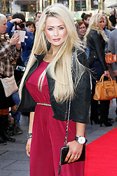 © Licensed to London News Pictures. 01/02/2014, UK. Nicola McLean, Mr Peabody & Sherman 3D - VIP Gala Screening, VUE Leicester Square, London UK, 01 February 2014. Photo credit : Brett D. Cove/Piqtured/LNP