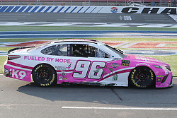 September 30, 2018 - Charlotte, NC, U.S. - CHARLOTTE, NC - SEPTEMBER 30:  #96: Jeffrey Earnhardt, Gaunt Brothers Racing, Toyota Camry American Soldier Network \ Xtreme Concepts after the Monster Energy NASCAR Cup Series Playoff Race Bank of America ROVAL 400 on September 30, 2018, at Charlotte Motor Speedway in Concord, NC. (Photo by Jaylynn Nash/Icon Sportswire) (Credit Image: © Jaylynn Nash/Icon SMI via ZUMA Press)