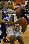 MCHS Varsity Girl's Basketball.vs Orange.12/4/2007..