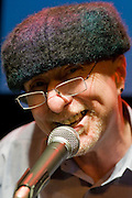 Mike McCarthy. Celebrating Linda Smith, Crucible Studio Sheffield 03/04/08...© Martin Jenkinson, tel 0114 258 6808 mobile 07831 189363 email martin@pressphotos.co.uk. Copyright Designs & Patents Act 1988, moral rights asserted credit required. No part of this photo to be stored, reproduced, manipulated or transmitted to third parties by any means without prior written permission.