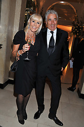 DAVID & SUZETTE MORRIS at a dinner and dance hosted by Leon Max for the charity Too Many Women in support of Breakthrough Breast Cancer held at Claridges, Brook Street, London on 1st December 2011.