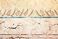 Original Munras Mural Detail at Mission San Miguel Arcangel, San Miguel, California