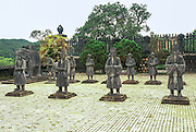 The tomb and final resting plave of Khai Dinh, Emperor of Vietnam from 1916-1925, Hue, Vietnam