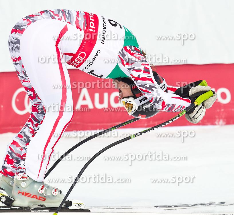 13.02.2011, Kandahar, Garmisch Partenkirchen, GER, FIS Alpin Ski WM 2011, GAP, Damen Abfahrt, im Bild Goldmedaillen Gewinnerin und Weltmeisterin Elisabeth Goergl (AUT) // World Champion and Gold Medal Winner Elisabeth Goergl (AUT) during womens Downhill, Fis Alpine Ski World Championships in Garmisch Partenkirchen, Germany on 13/2/2011, 2011, EXPA Pictures © 2011, PhotoCredit: EXPA/ J. Feichter