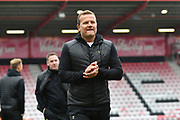 Forest Green Rovers Manager Mark Cooper during the EFL Cup match between Bournemouth and Forest Green Rovers at the Vitality Stadium, Bournemouth, England on 28 August 2019.