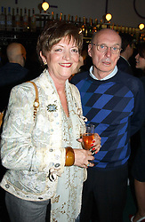 Matthew Williamson's parents DAVID & MAUREEN WILLIAMSON at a party to celebrate the launch of the new Matthew Williamson fragrance held at Harvey Nichols, Knightsbridge, London on 14th June 2005.<br />