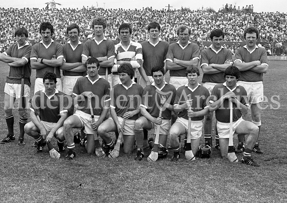 Cork Hurling Team, circa July 1983 (Part of the Indeoendent newspapers Ireland/NLI Collection).