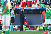 Poland Manager Adam Nawałka during the Euro 2016 match between Poland and Northern Ireland at the Stade de Nice, Nice, France on 12 June 2016. Photo by Phil Duncan.