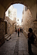 Day 4 -  An alley in Jerusalem (Photo by Brian Garfinkel)