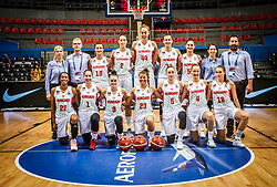 Team Hungary during basketball match between Women National teams of Hungary and Slovenia in Group phase of Women's Eurobasket 2019, on June 27, 2019 in Sports Center Cair, Nis, Serbia. Photo by Vid Ponikvar / Sportida