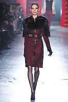 Kati Nescher walks down runway for F2012 Jason Wu's collection in Mercedes Benz fashion week in New York on Feb 10, 2012 NYC