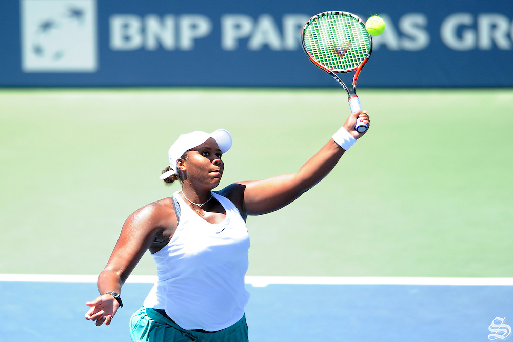 Taylor Townsend. Bank of the West Classic, Stanford, CA 2016. Photo by Mike Kheir