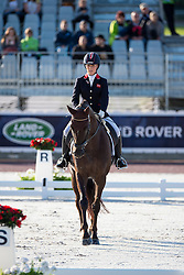 Sophie Wells, (GBR), Valerius - Team Competition Grade IV Para Dressage - Alltech FEI World Equestrian Games™ 2014 - Normandy, France.<br /> © Hippo Foto Team - Jon Stroud <br /> 25/06/14