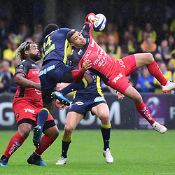 02,04,2017 European Champions Cup quarter final match between Clermont and Toulon