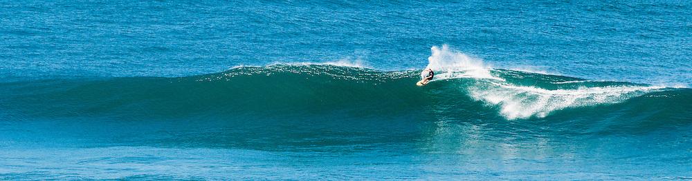 Tow-in surfing, Kauai, Hawaii
