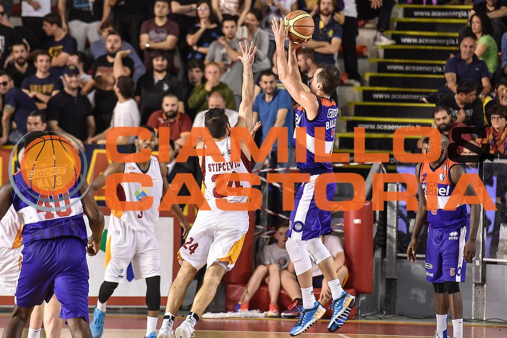 DESCRIZIONE : Campionato 2014/15 Virtus Acea Roma - Enel Brindisi<br /> GIOCATORE : Massimo Bulleri<br /> CATEGORIA : Tiro Tre Punti Three Points Controcampo<br /> SQUADRA : Enel Brindisi<br /> EVENTO : LegaBasket Serie A Beko 2014/2015<br /> GARA : Virtus Acea Roma - Enel Brindisi<br /> DATA : 19/04/2015<br /> SPORT : Pallacanestro <br /> AUTORE : Agenzia Ciamillo-Castoria/GiulioCiamillo