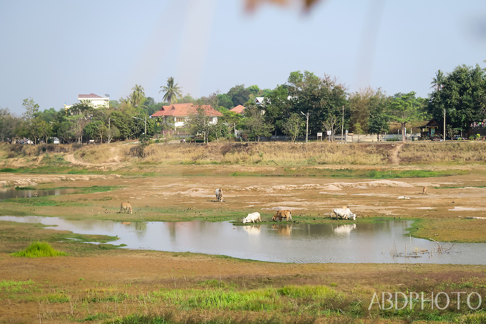 ubon ratchathani isaan thailand river lake countryside