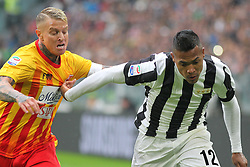November 5, 2017 - Turin, Italy - Alex Sandro (Juventus FC, right) during  the Serie A football match between Juventus FC and Benevento Calcio on 05 November 2017 at Allianz Stadium in Turin, Italy. (Credit Image: © Massimiliano Ferraro/NurPhoto via ZUMA Press)