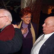 Harpengala 2003, Eddy Christiani en partner Hella van Nunen - Faassen in gesprek met Bas van Toor, Bassie