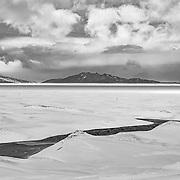 Sea ice from Scott Base