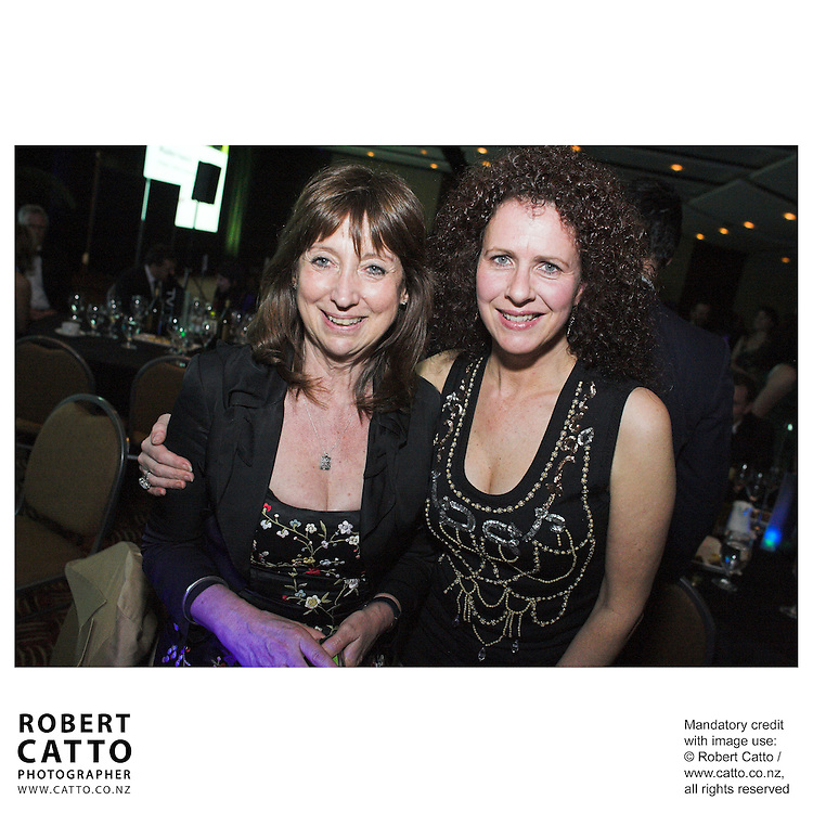Yvonne MacKay;Kath Domett at the Spada Conference 06 at the Hyatt Regency Hotel, Auckland, New Zealand.<br />
