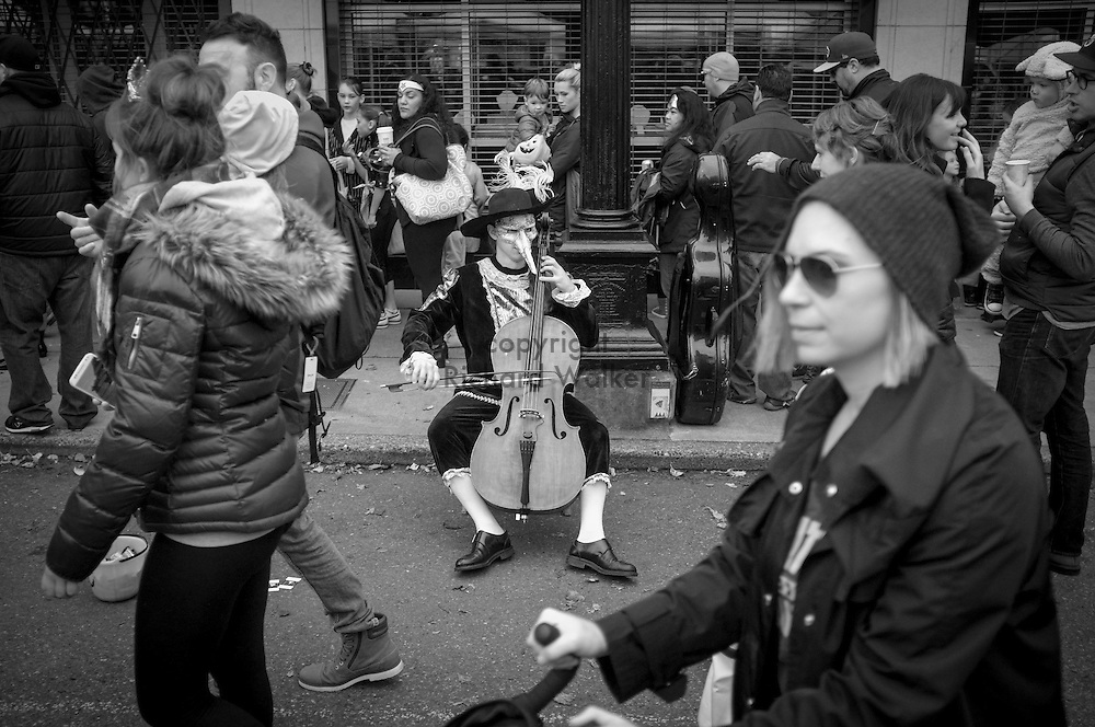 2016 October 30 - Street scene, West Seattle Harvest Festival, West Seattle, WA, USA. By Richard Walker