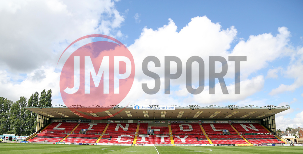 A general view of Lincoln City's Sincil Bank Stadium - Mandatory by-line: Joe Dent/JMP - 22/07/2017 - FOOTBALL - Sincil Bank - Lincoln, England - Lincoln City v Peterborough United - Pre-season friendly