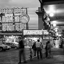 The Pike Place public market in Seattle, Washington