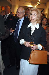 LORD & LADY RENWICK at the opening of the Royal Society Of Portrait Painters annual exhibition 2007 held at The Mall Galleries, The Mall, London on 25th April 2007.<br />