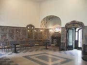 Bad Nauheim, Jugendstil Anlage Sprudelhof, Eingangshalle eines Badehauses