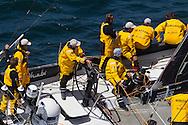 FRANCE, Lorient. 1st July 2012. Volvo Ocean Race, Start Leg 9 Lorient-Galway. Abu Dhabi Ocean Racing.
