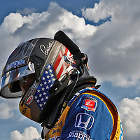 16-17 August, 2014, West Allis, Wisconsin USA<br /> Marco Andretti<br /> &copy;2014, Phillip Abbott<br /> LAT Photo USA