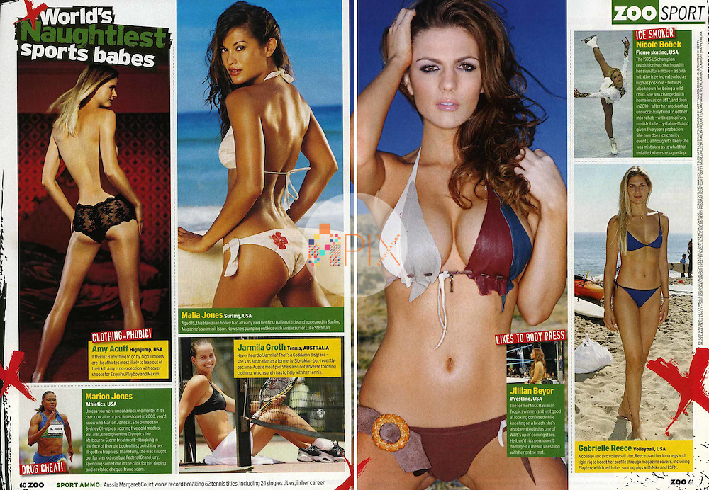 Jillian Beyor in ZOO WEEKLY Australia :: January 2011