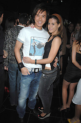ANDY WONG and FRANCESCA VERSACE at the grand opening of the Amika nightclub, 65 High Street Kensington, London on 28th February 2007.<br /><br />NON EXCLUSIVE - WORLD RIGHTS