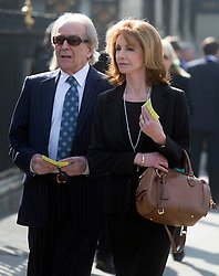 David Frost Memorial Service at Westminster Abbey<br /> <br /> jane asher with gerald scarfe husband<br /> <br /> <br /> <br /> <br /> Pic by Gavin Rodgers/Pixel 8000 Ltd © Licensed to London News Pictures. Photo credit: Gavin Rogers/LNP