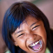 A beautiful Malay child on the island of Penang.