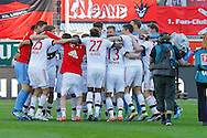 The players of Bayern Munich celebrate winning  the Bundesliga championship at Audi Sportpark, Ingolstadt<br /> Picture by EXPA Pictures/Focus Images Ltd 07814482222<br /> 07/05/2016<br /> ***UK &amp; IRELAND ONLY***<br /> EXPA-EIB-160507-0056.jpg