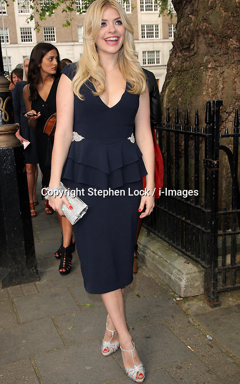 Holly Willoughby arriving at the Glamour Women of The Year Awards  in London, Tuesday, 29th May ,2012  Photo by: Stephen Lock / i-Images